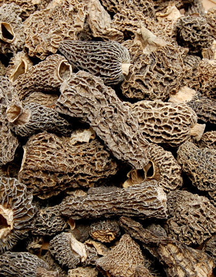 Wine Forest Wild Foods excellent quality Dried Wild Grey Morel Mushrooms