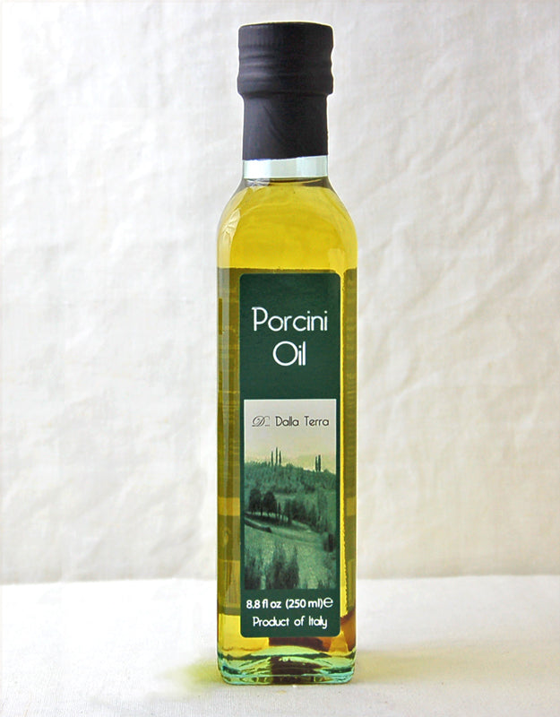 Wine Forest Wild Foods brings you D Dalla Terra Porcini Oil