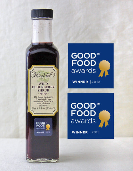 Wine Forest Wild Foods Award-Winning Wild Elderberry Shrub