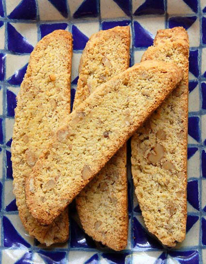Wine Forest Wild Foods Fenel Walnut Biscotti made with our Pure Wild Harvested California Fennel Pollen