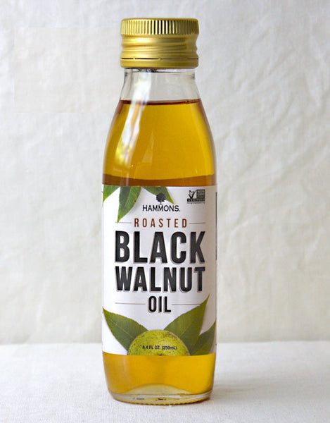 Hammons Roasted American Black Walnut Oil