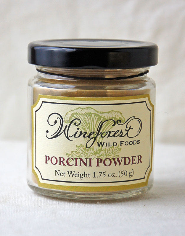Wine Forest Wild Foods porcini powder, pure porcini cleaned, milled and sourced with care