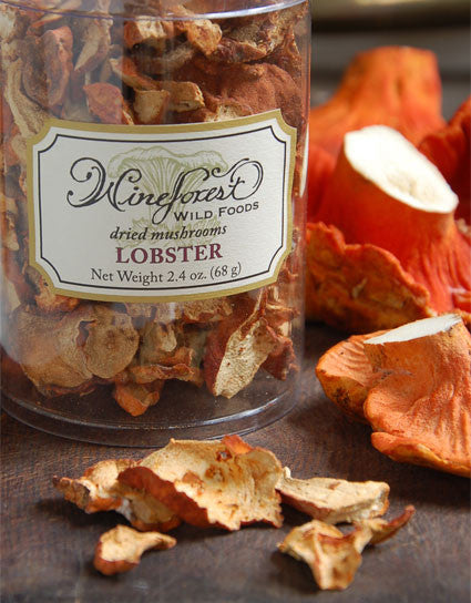 Wine Forest Wild Foods premium quality gourmet Dried Wild Lobster Mushrooms