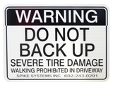 Warning Sign Kit B