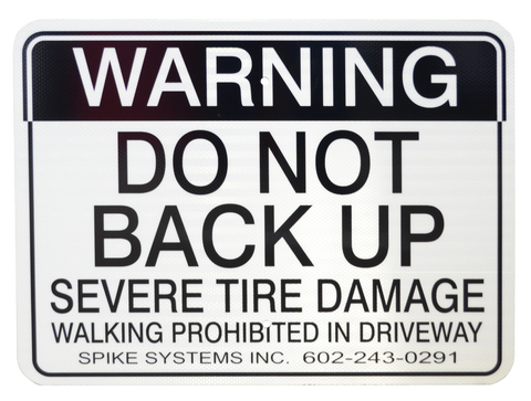 Warning Sign Kit D