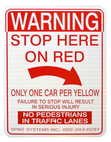 Warning Sign Kit E
