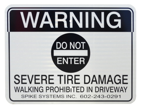 Warning Sign Kit A
