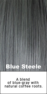 Belle Tress Blue Steele Description