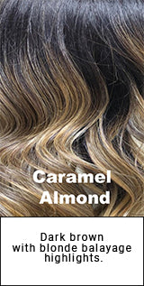 Belle Tress Caramel Almond Description