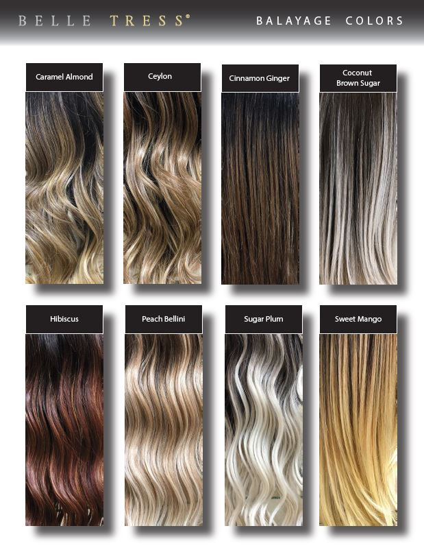 Belle Tress Balayage Color Swatch