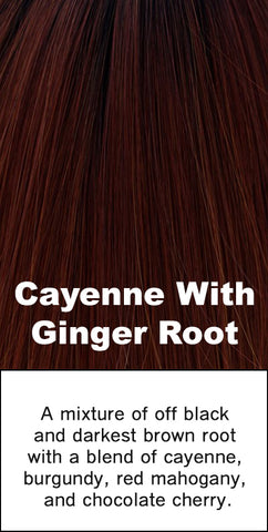 Belle Tress Cayenne with Ginger Root