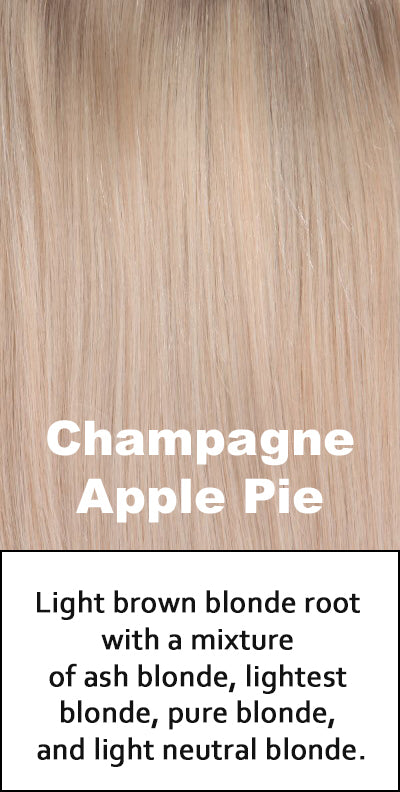 Belle Tress Human Hair Champagne with Apple Pie