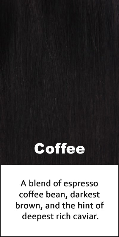Belle Tress Human Hair Coffee