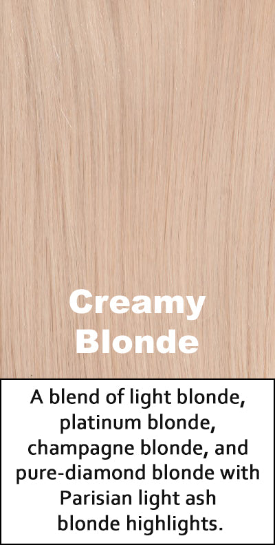 Belle Tress Human Hair Creamy Blonde