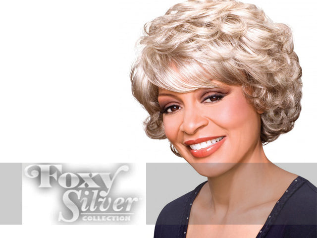 Foxy Silver Wigs at NameBrandWigs.com