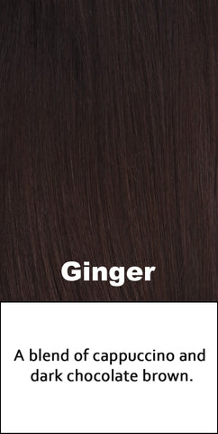 Belle Tress Human Hair Ginger