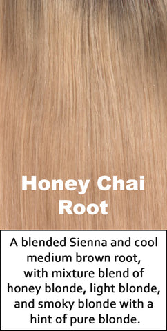 Belle Tress Human Hair Honey Chai Root