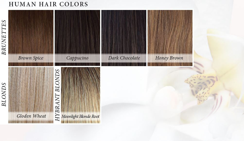 Orchid Collection Human Hair Colors