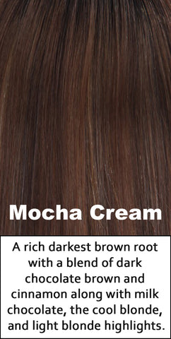 Belle Tress Human Hair Mocha Cream