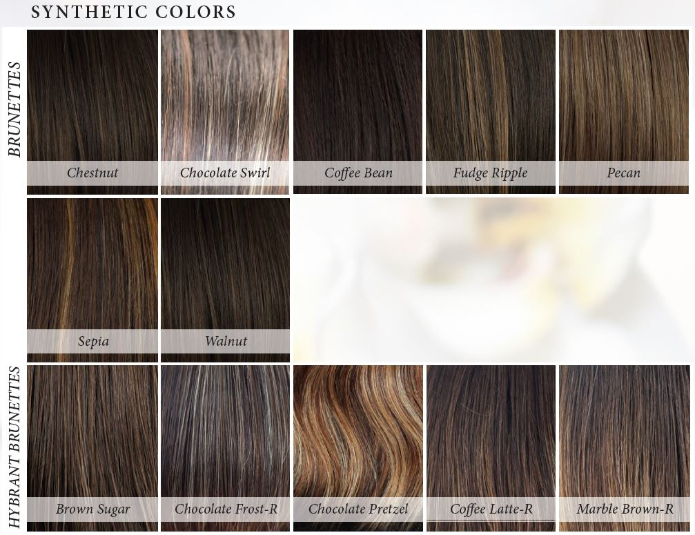 Orchid Collection Synthetic Colors - Brunettes and Hybrand Brunettes