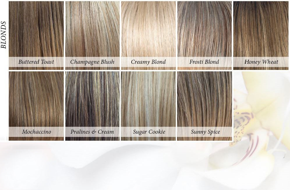 Orchid Collection Synthetic Colors - Blonds