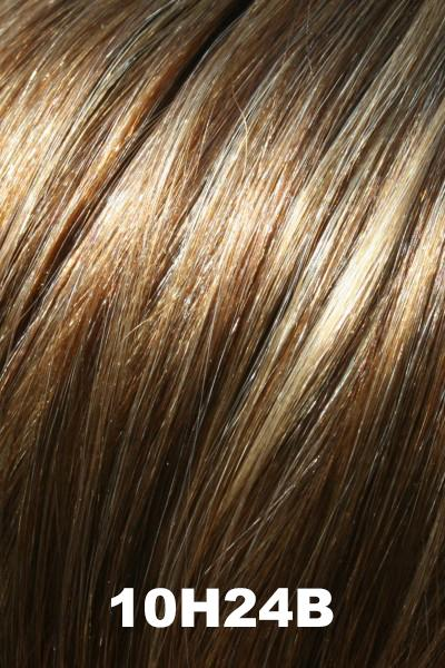 "EasiHair Toppers - EasiPart French XL 12"" HH (#753) - Remy Human Hair Enhancer EasiHair 10H24B"