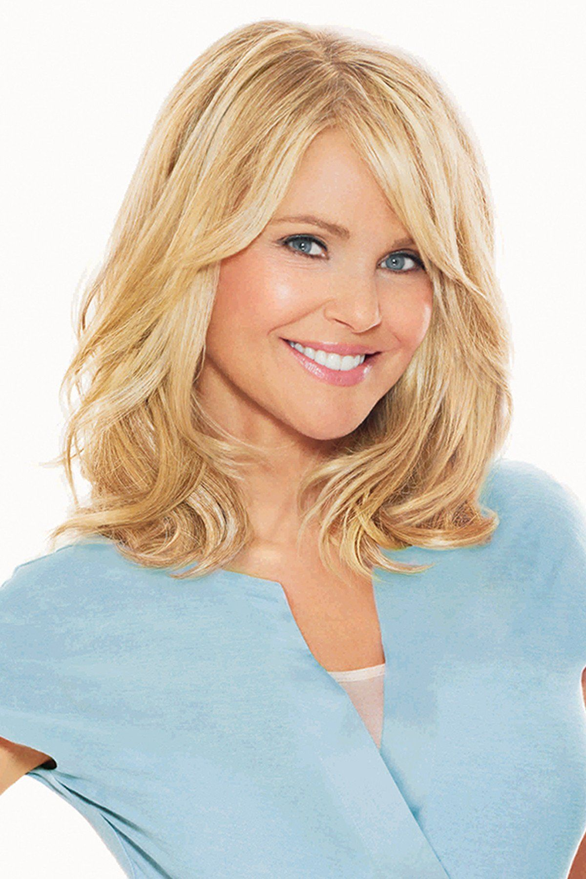 Christie Brinkley Wigs - 12 Inch Clip-in Hair Extension Front 1