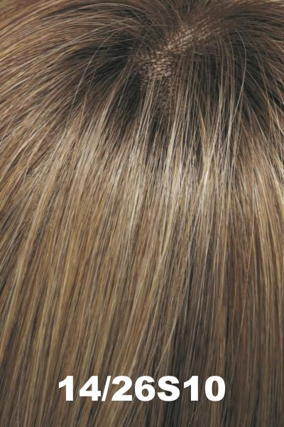"EasiHair Toppers - EasiPart French XL 12"" HH (#753) - Remy Human Hair Enhancer EasiHair"