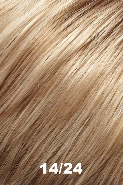 "EasiHair Toppers - EasiPart French XL 12"" HH (#753) - Remy Human Hair Enhancer EasiHair 14/24"