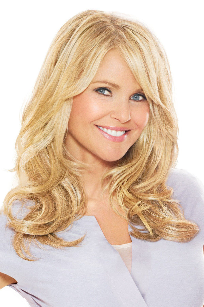 christie brinkley wigs 16 inch clip in hair extensio