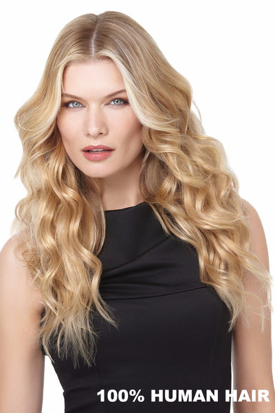 HairDo 18 Inch Remy Human Hair 10 pc Extension Kit (#H1810P) 1