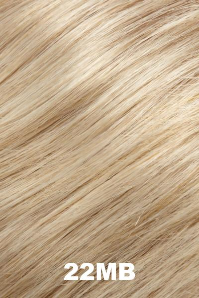 "EasiHair Toppers - EasiPart French XL 12"" HH (#753) - Remy Human Hair Enhancer EasiHair 22MB"