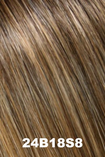 EasiHair - EasiPart XL 12 (#733A) Exclusive Colors - Remy Human Hair Volumizer EasiHair 24B18S8