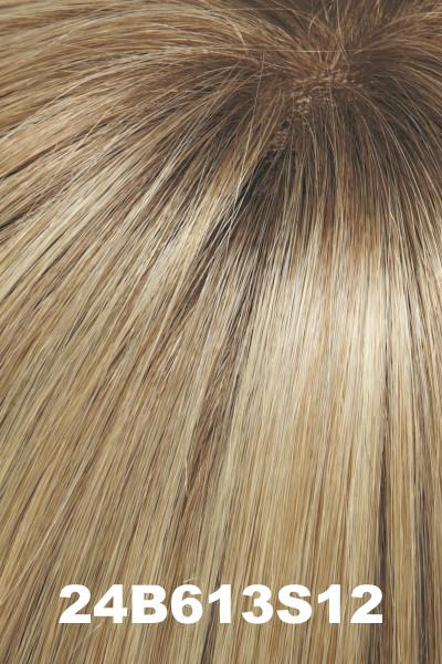 "Easihair Toppers - EasiPart French 12"" Exclusive Colors (#740A) - Remy Human Hair"