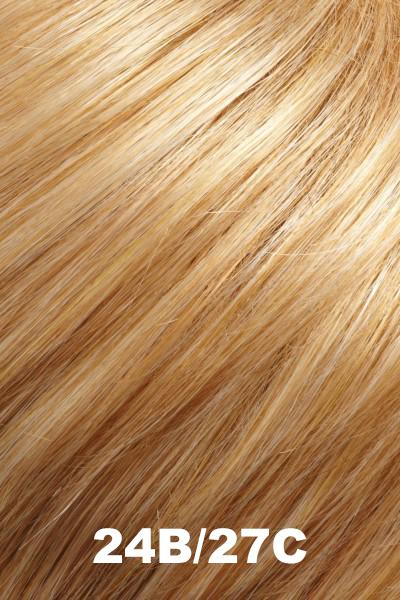 EasiHair Extensions - EasiVolume Elite 18 inch (#330) - Remy Human Hair Volumizer EasiHair Butterscotch (24B/27C)