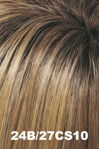 EasiHair Topper - EasiPart 18 (#734A) Exclusive Colors - Human Hair