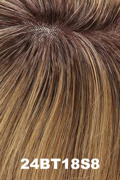 Jon Renau Wigs - Carrie Human Hair - Petite - Exclusive Colors (#751A)