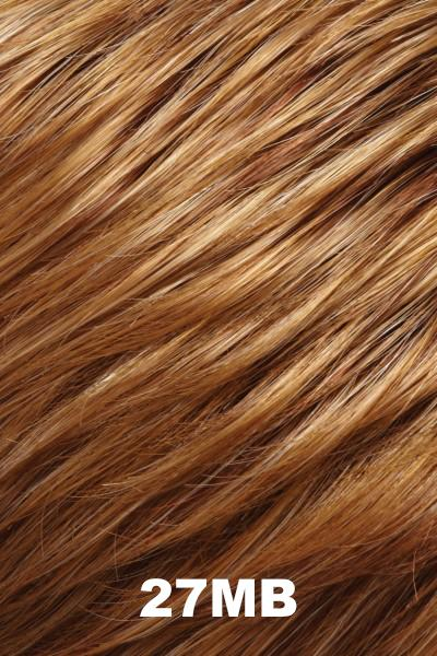 "EasiHair Toppers - EasiPart French XL 12"" HH (#753) - Remy Human Hair Enhancer EasiHair 27MB"