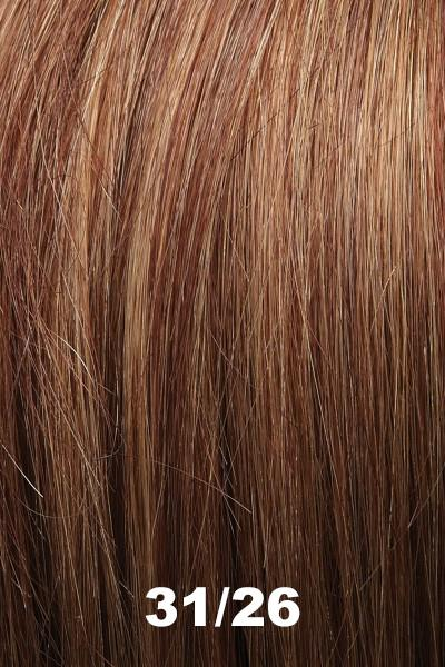 "EasiHair Toppers - EasiPart French XL 12"" HH (#753) - Remy Human Hair Enhancer EasiHair 31/26"