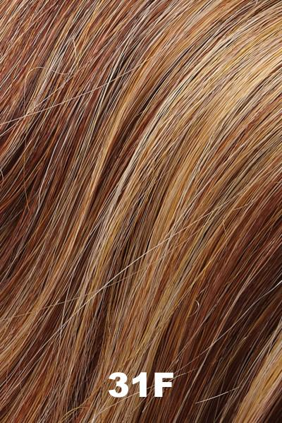 EasiHair Extensions - EasiVolume Elite 18 inch (#330) - Remy Human Hair Volumizer EasiHair Apricot Tart (31F)