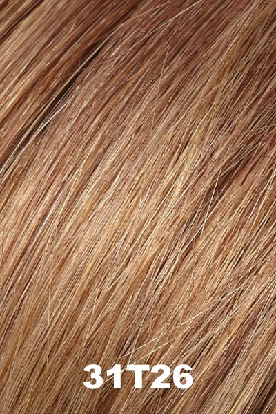 EasiHair Extensions - EasiVolume Elite 18 inch (#330) - Remy Human Hair Volumizer EasiHair Maple Syrup (31T26)