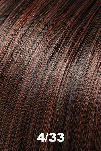 EasiHair Extensions - EasiVolume Elite 18 inch (#330) - Remy Human Hair Volumizer EasiHair Choc Rasp Truffle (4/33)