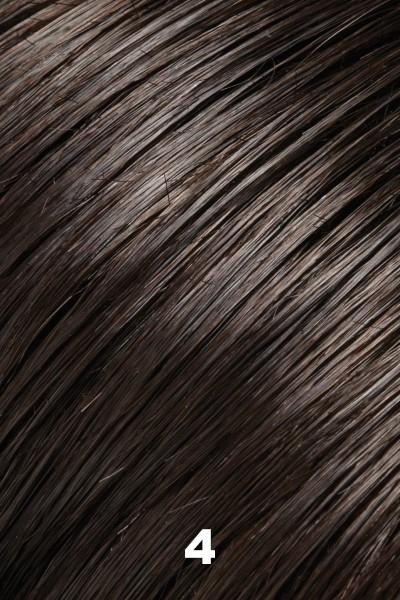 EasiHair Extensions - EasiVolume Elite 18 inch (#330) - Remy Human Hair Volumizer EasiHair Brownie Finale (4)