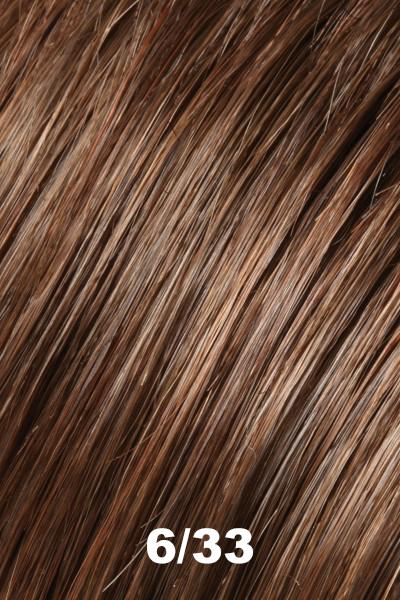 "Easihair Topper - EasiPart French 8"" (#739) - Remy Human Hair Enhancer EasiHair 6/33"