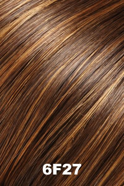 "EasiHair Toppers - EasiPart French XL 12"" HH (#753) - Remy Human Hair Enhancer EasiHair 6F27"
