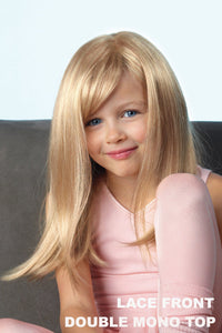 "Amore Wigs - Miley #4206 wig Amore Gold Blond Children's (19"")"