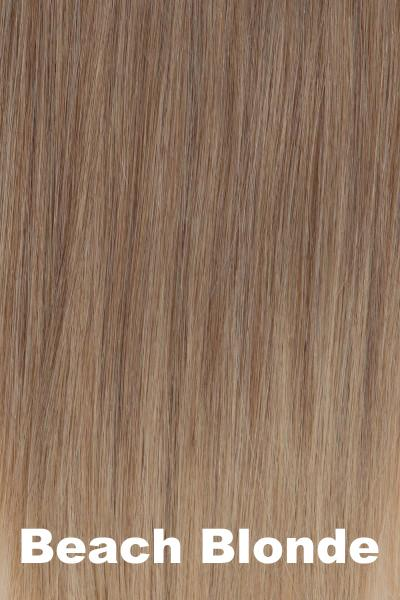 "Belle Tress Wigs - Remy Human Hair Lace Front Mono Top 14"" (#1000) Enhancer Belle Tress"