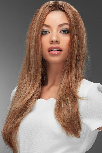 Jon Renau Wigs : Blake Human Hair Exclusive Colors (#726A) front 3