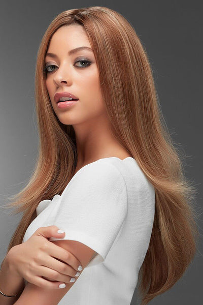 Jon Renau Wigs : Blake Human Hair Exclusive Colors (#726A) side 2