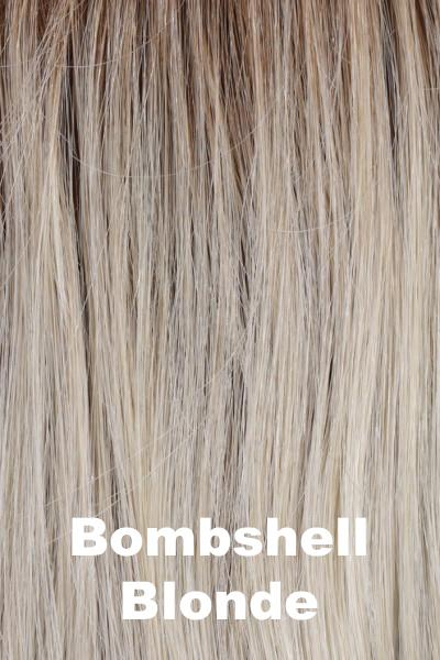 "Belle Tress Wigs - Maxwella 18"" (#6049) wig Belle Tress Bombshell Blonde Average"